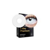 Lentilles fantaisie Clearcolor Phantom White Out - 1 jour