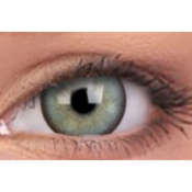 Lentilles de Contact Vertes Colourvue Lumina Dazzling Mint - 3 Mois