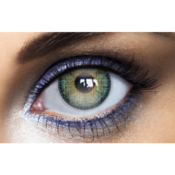 Lentilles de contact bleues Fashion Lentilles Topaze Natural Dark Dream - 1 mois