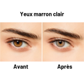 Desio Two Shades of Grey Darker Grey Sans Correction - Lentilles de Contact 3 mois