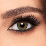 Air Optix Colors Green - Lentilles de contact 1 mois