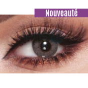 Bella Elite Amber Gray - Lentilles de Contact 3 Mois