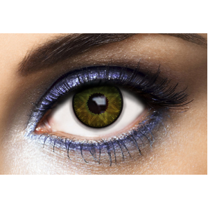 Lentilles de couleur verte Los Angeles Green - Fashion Lentilles 1 an