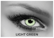Lentilles de contact Soleko Queen's Twins Light Green - 1 mois