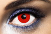 Lentilles Fantaisie rouges Fashion Lentilles Red Out - 1 an