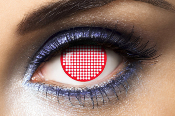 Lentilles de Couleur Rouge Fantaisie Screen Red Fashion Lentilles 1 an