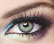 Lentilles de Contact Bleues Obsession Paris Seduction Ocean - 3 Mois