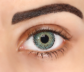 Lentilles de contact vertes Fashion Lentilles Natural Dream Jade Green - 1 mois