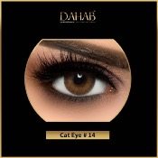 Lentilles De Contact Marron Dahab Cat Eye 6 mois