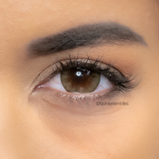 Fashion Lentilles® Circle Marron 1 an - Lentilles Big Eyes