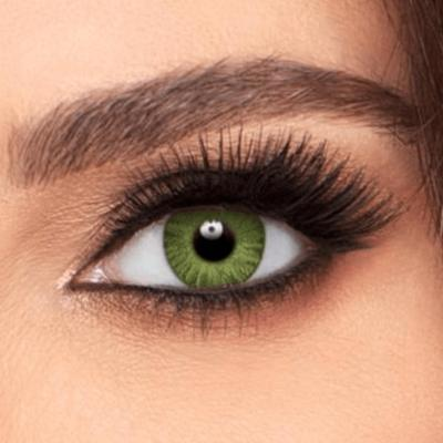 Air Optix® Colors Gemstone Green 1 mois - Lentilles de contact