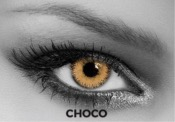 Lentilles de contact Soleko Queen's Trilogy Choco - 1 mois
