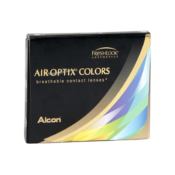 Lentilles de contact Air Optix Colors Blue -0.75 (Outlet) - 1 mois