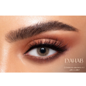 Dahab Gold Lumiere Brown - Lentilles de Contact 6 mois