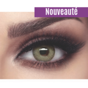 Bella Elite Gray Olive - Lentilles de Contact 3 Mois