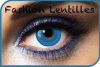 Lentilles Fantaisie Blue Out 1 an