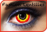 Lentilles Fantaisie Mini Sclera 17mm Scream 1 an