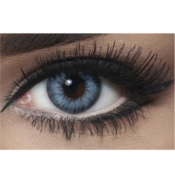 Lentilles de contact Bella Diamonds Pacific Blue - 1 Mois