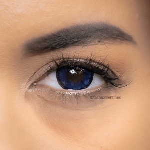 Fashion Lentilles® Big Eyes Blue 1 an - Lentilles Big Eyes