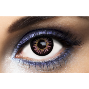 Lentilles de contact violette Fashion Lentilles New York Violet - 1 an