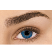 Lentilles de Contact Bleues Freshlook Colorblends Brillant Blue - 1 Mois