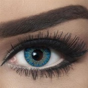 Lentilles de contact Bella Natural Blue - 3 Mois