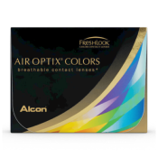 Air Optix Colors Brilliant Blue - Lentilles de contact 1 mois