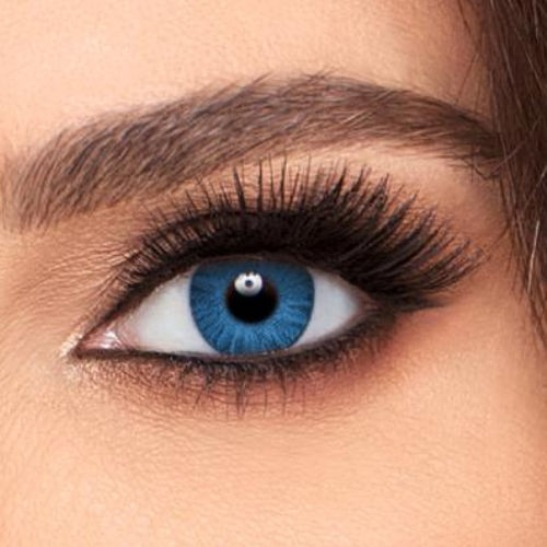 Lentilles Air Optix Colors Brilliant Blue Bleues 1 mois