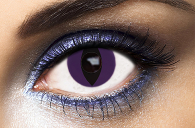Lentilles Fantaisie Purple Cat - 1 an