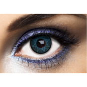 Lentilles de couleur bleue Los Angeles Blue - Fashion Lentilles 1 an
