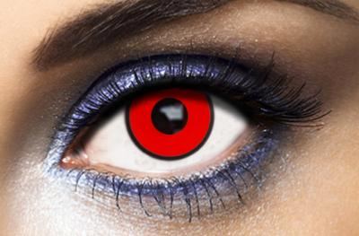 Fashion Lentilles® Red Manson 1 an - Lentilles Halloween