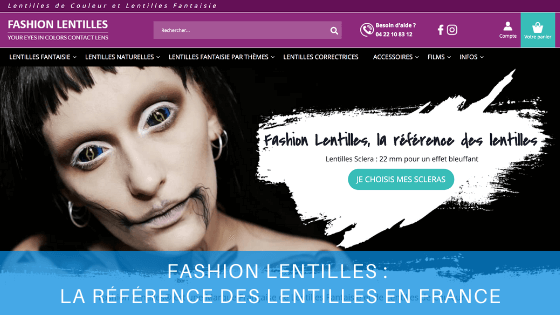 fashion lentilles site web