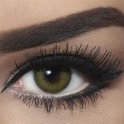 Lentilles Bella Diamonds Caribbean Green 1 Mois