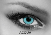 Lentilles de contact Soleko Queen's Twins Acqua avec correction -3,25 - 1 mois (Outlet)