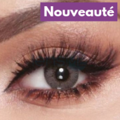 Lentilles de contact Bella Elite Amber Gray - 3 Mois
