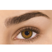 Lentilles de Contact Noisette Freshlook Colorblends Honey - 1 Mois