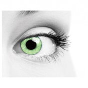 Lentilles de contact Soleko Queen's Solitaire Light Green - 3 mois