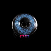 Lentilles de Couleur TTDeye Super Natural Blue - 1 an