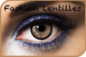 Lentilles De Couleur Big Eyes Brown Marron 15 mm 1 an