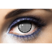 Lentilles Fantaisie Black Screen Fashion Lentilles - 1 An