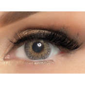 Lentilles de Contact Grises Adore Tri-Tone Light Grey - 3 mois