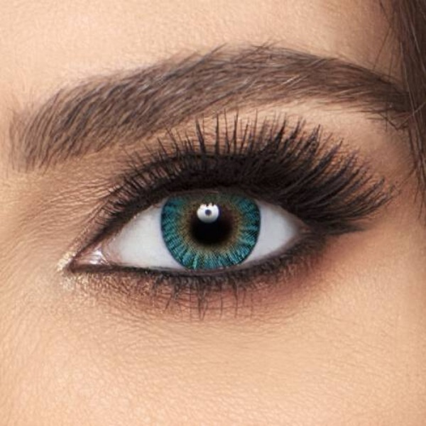 Air Optix Colors Turquoise -  Lentilles de contact 1 mois
