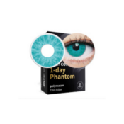 Lentilles fantaisie Clearcolor Phantom Blue Walker - 1 jour