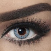Lentilles de contact Bella Natural Viola Gray - 3 Mois