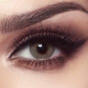 Lentilles de contact Bella Elite Silky Gold - 3 Mois