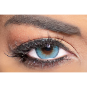 Lentilles de Contact Bleues Obsession Paris Seduction Azur - 3 Mois
