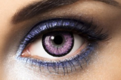 Lentilles Fantaisie violette Fashion Lentilles Big Eyes Violet - 1 an