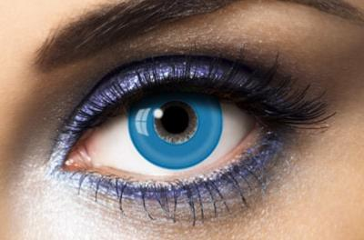 Fashion Lentilles® Blue Out 1 an - Lentilles Fantaisie
