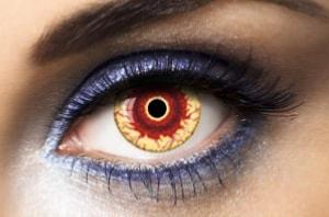 Fashion Lentilles® Demon 1 an - Lentilles Halloween