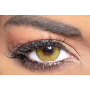 Lentilles de Contact Verte Obsession Paris Seduction Lime - 3 Mois
